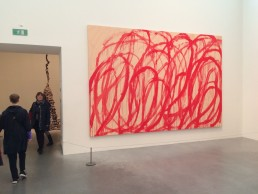 Painting by Cy Twombly: untitled (Bacchus) 2006-8